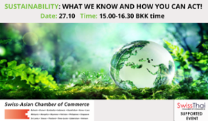 thumbnails Supported Webinar - Sustainability: What we know and how you can act!