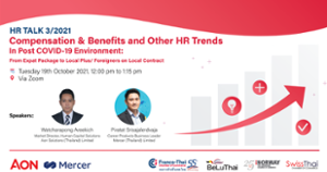 thumbnails Supported Webinar: HR Talk 3/2021 - Compensation & Benefits and other HR Trends In Post COVID-19 Environment
