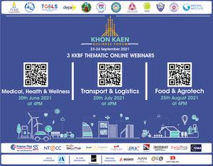 thumbnails Khon Kaen Business Forum: 3 Thematic Webinars